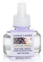 Yankee Candle Lavender Vanilla Electric Home Fragrancer Refill (Single)