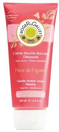 Roger & Gallet Fleur de Figuier Shower Cream (6.6 fl oz., 200ml)