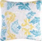 Delilah Blue Square Pillow