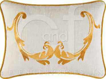 Florence Embroidered Pillow