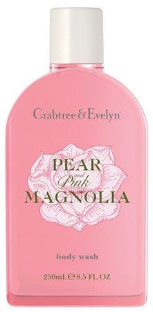 Crabtree & Evelyn Pear and Pink Magnolia Body Wash (8.5 fl oz, 250ml)