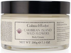 Crabtree & Evelyn Caribbean Island Wild Flowers Body Cream (7.1 oz., 200g)