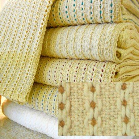 George Washington's Choice Blanket Twin Linen