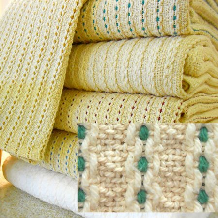 George Washington's Choice Blanket Twin Sage