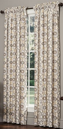 Izmir Rod Pocket Curtains