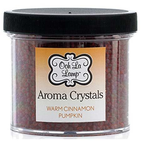La Tee Da Ooh La Lamp Aroma Crystals Fragrance Warm Cinnamon Pumpkin/Falling Leaves