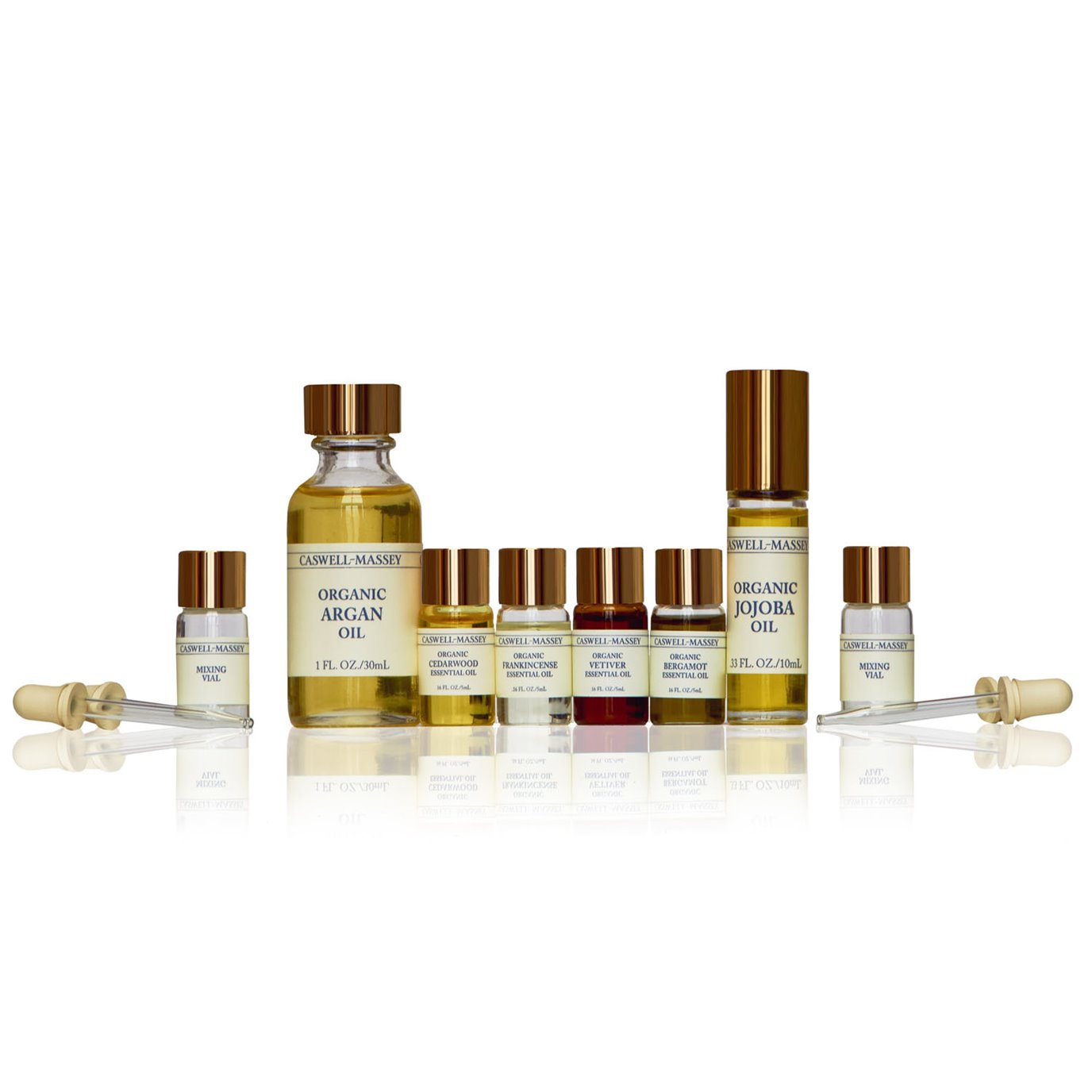 Caswell-Massey Steps In The Forest Essential Oils Set