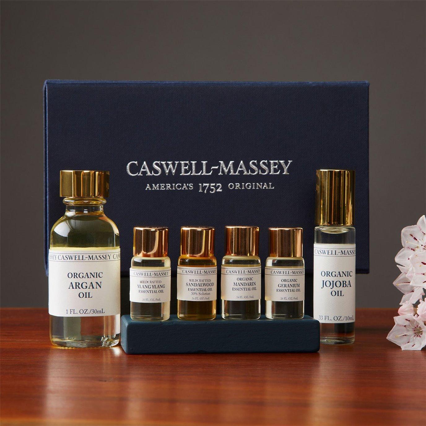 Caswell-Massey Deep Florals Essential Oils Set