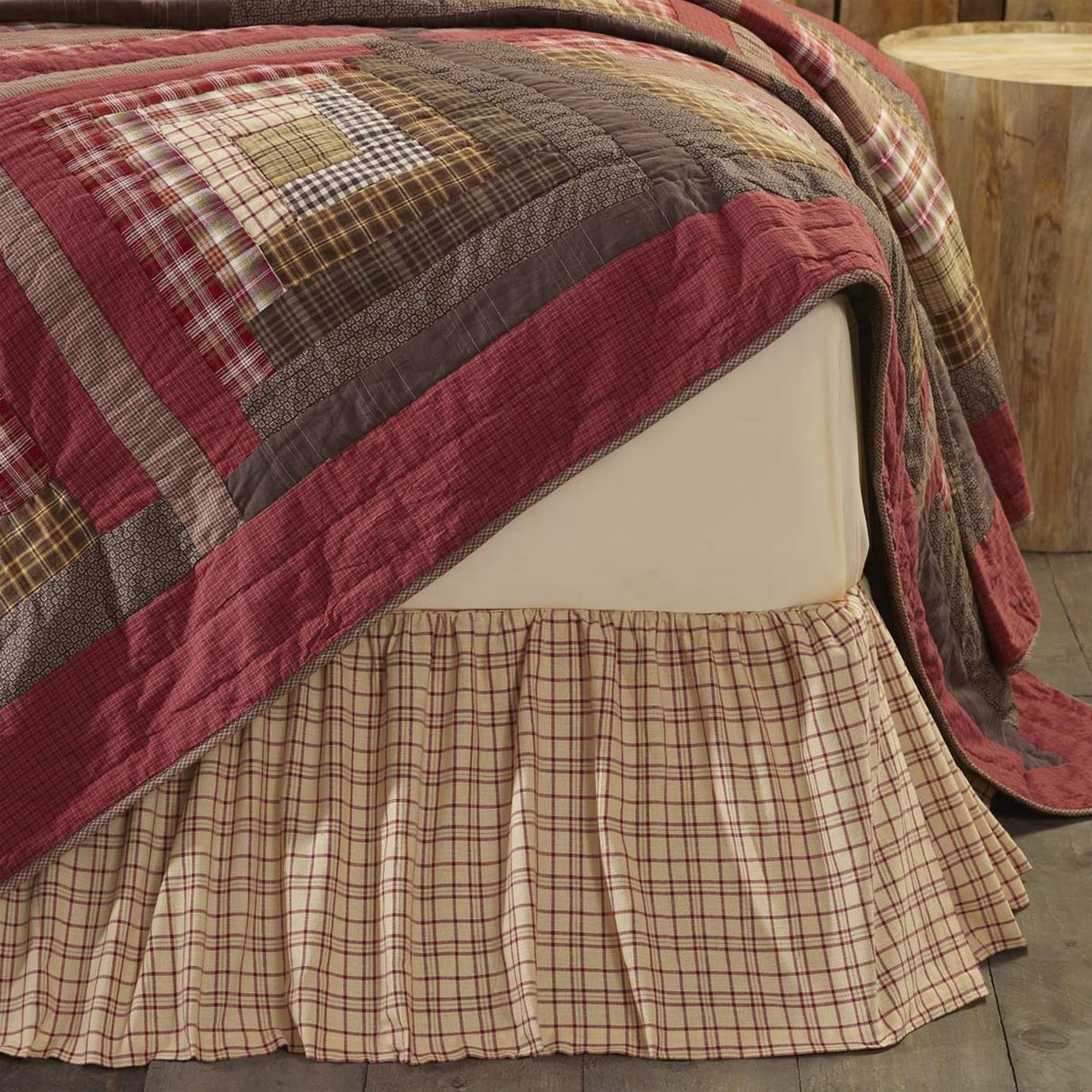 Tacoma Twin Bed Skirt 39x76x16