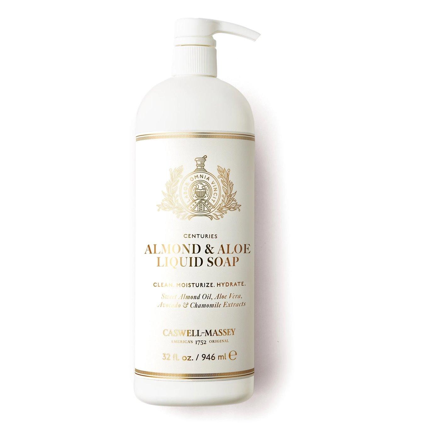 Caswell-Massey Almond & Aloe Liquid Soap 32 oz.