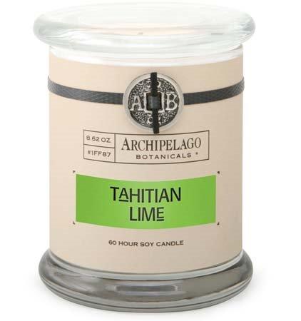 Archipelago Tahitian Lime Jar Candle