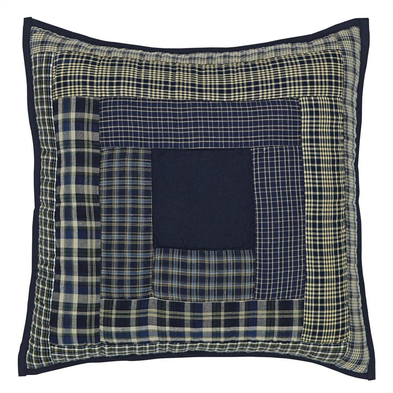 "Columbus 16"" Quilted Pillow"