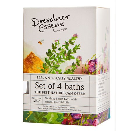 Dresdner Essenz Set of 4 Assorted Bath Soaks
