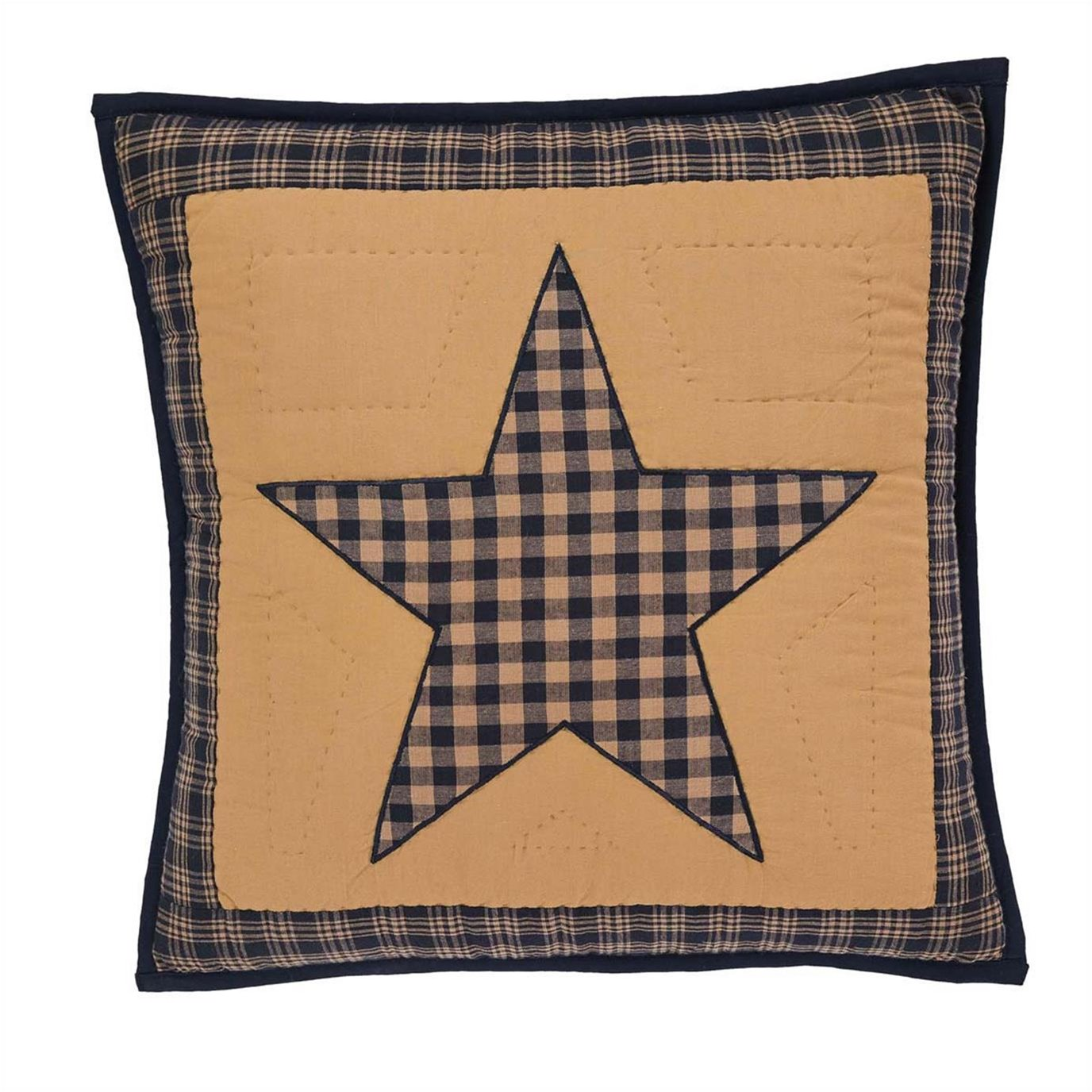 Teton Star Quilted Pillow 16x16