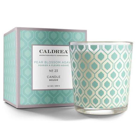 Caldrea Pear Blossom Agave Candle