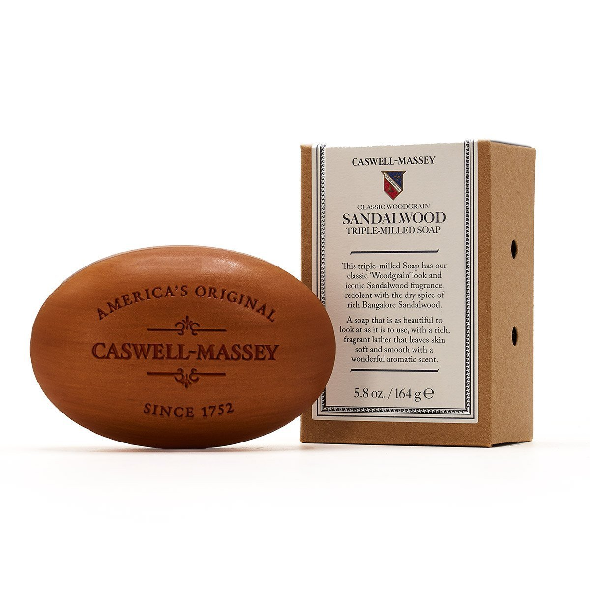 Caswell-Massey Sandalwood Bath Soap (5.8 oz. bar)