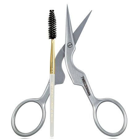Brow Shaping Scissors & Brush Set