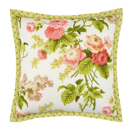 Emma's Garden 18x18 Decorative Pillow
