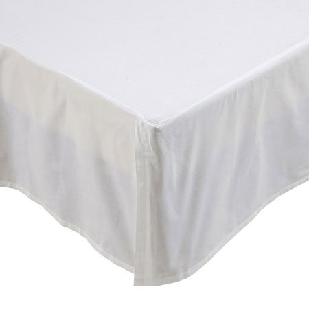 Rochelle Creme Twin Bedskirt