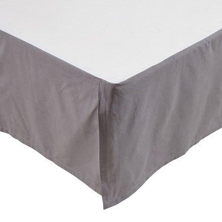 Rochelle Grey Twin Bedskirt