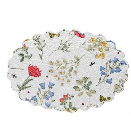 Wildflower Placemat Oval