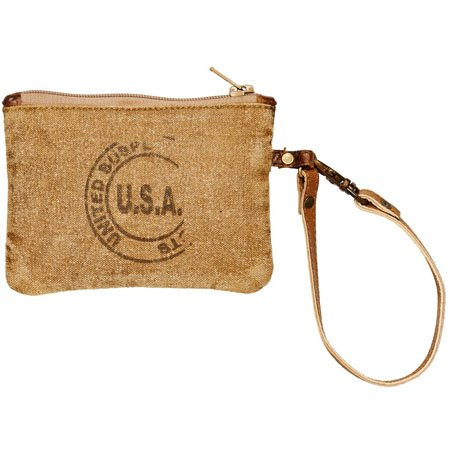 Mona B. USA Stamped Small Pouch
