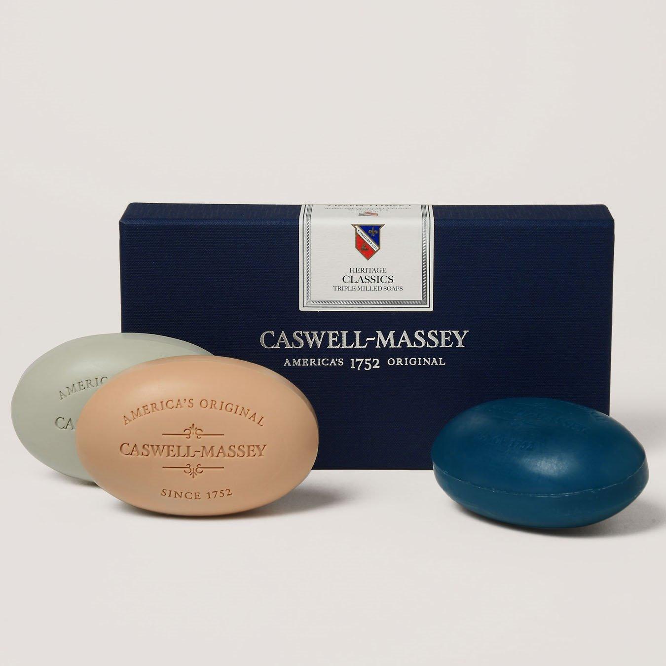 Caswell-Massey Men's Classic Soap Set