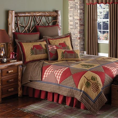 Cabin 3 Piece Queen Quilt Set