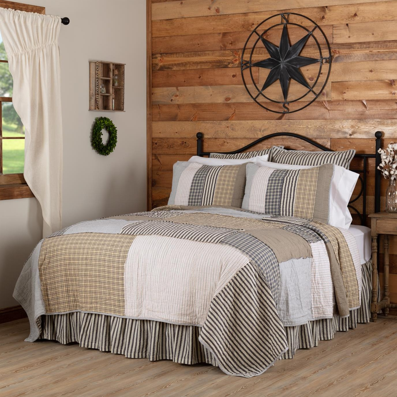 Ashmont Luxury King Quilt 120Wx105L