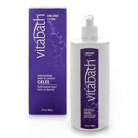 Vitabath Orchid Intrigue Moisturizing Bath & Shower Gelee (21 oz)