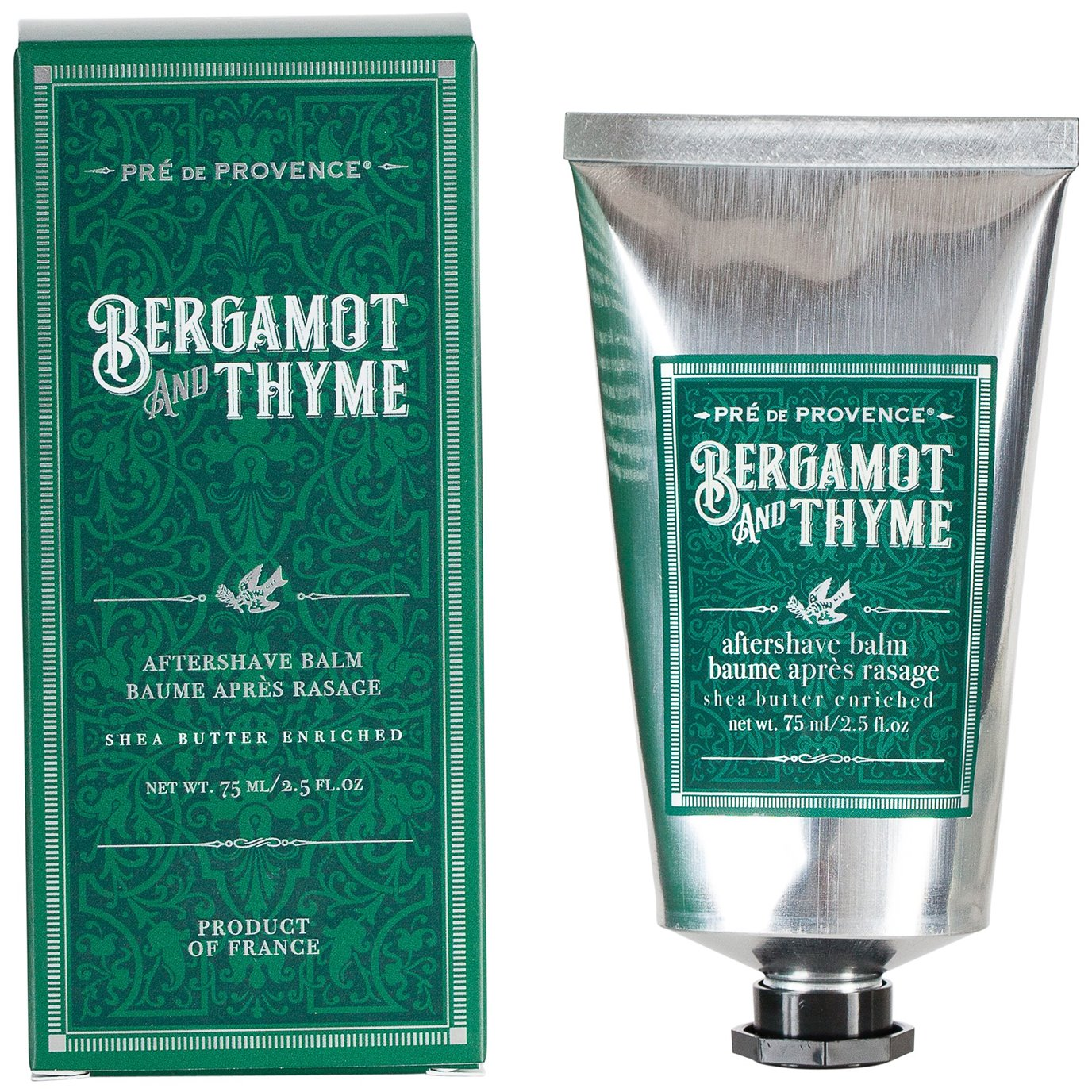 Pre de Provence Shea Butter Enriched Bergamot and Thyme After Shave Balm