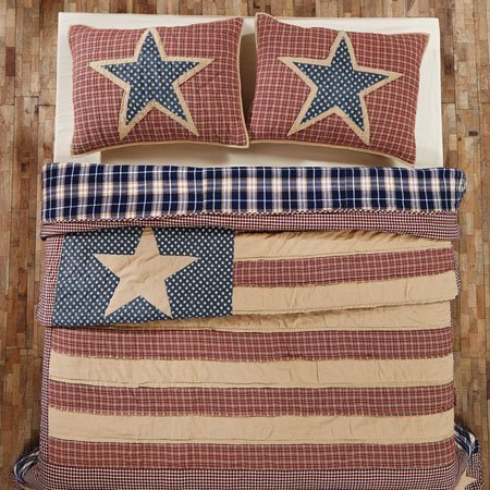 Independence King Quilt