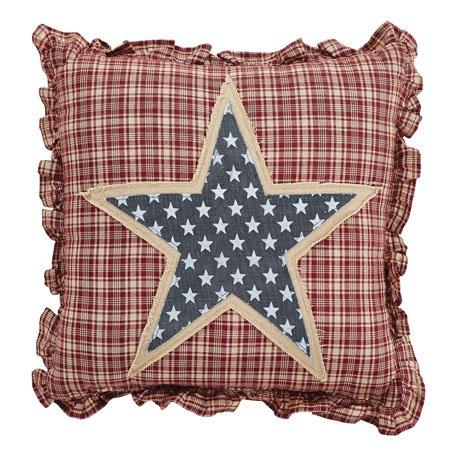 Independence Star Pillow