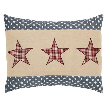 Independence 3 Stars Pillow