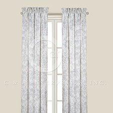 Clementina Cement Drapery Panel