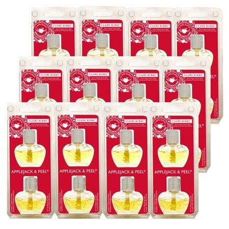 Claire Burke Applejack & Peel Fragrance Warmer Refill 12 Pack (24 bottles)
