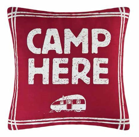 Miller Camp Here Pillow