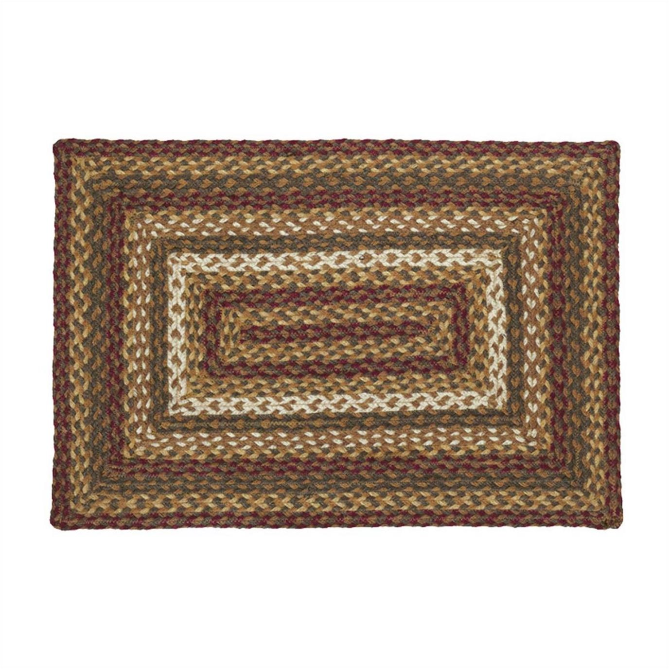 Tea Cabin Jute Rug Rectangular 20x30