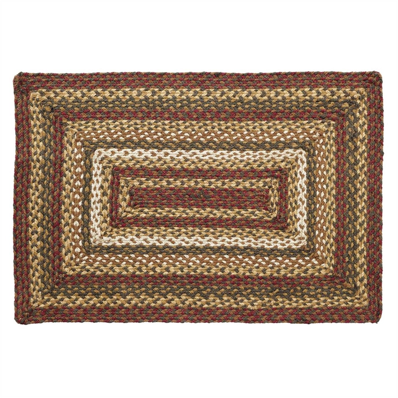 Tea Cabin Jute Rug Rectangular 24x36