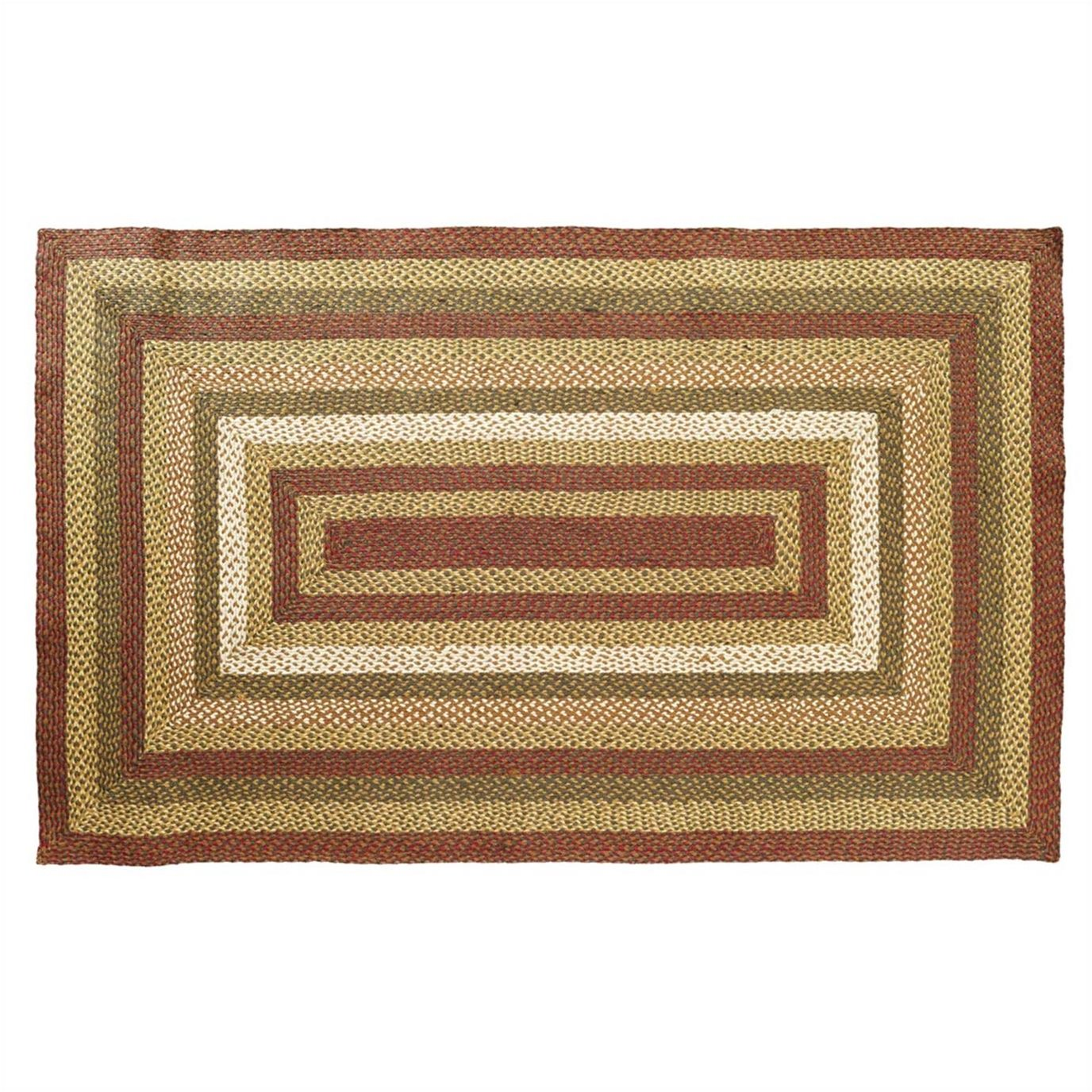 Tea Cabin Jute Rug Rectangular 60x96