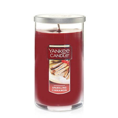 Yankee Candle Sparkling Cinnamon Medium Perfect Pillar