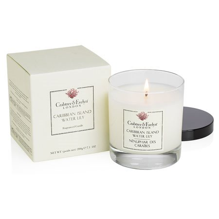 Crabtree & Evelyn Caribbean Island Water Lily Candle