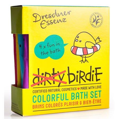 Dresdner Essenz Dirty Birdie Set of 4 Assorted Bath Soaks