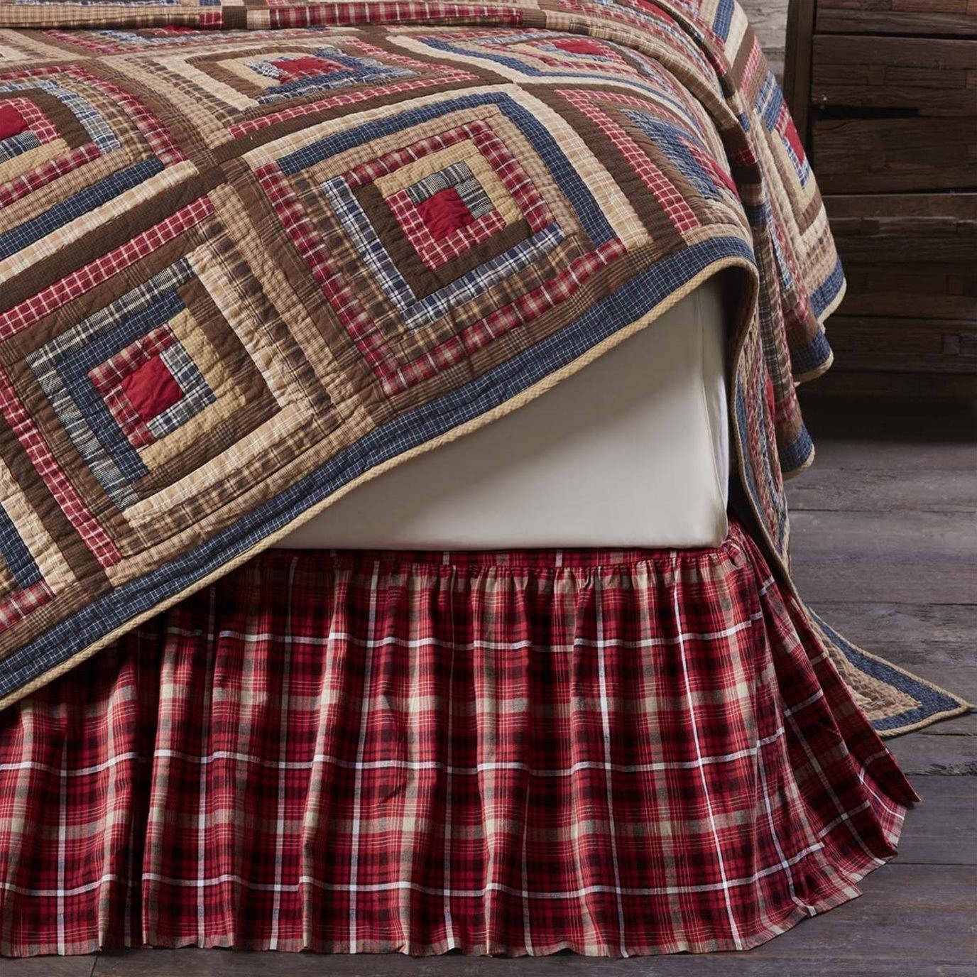 Braxton King Bed Skirt 78x80x16