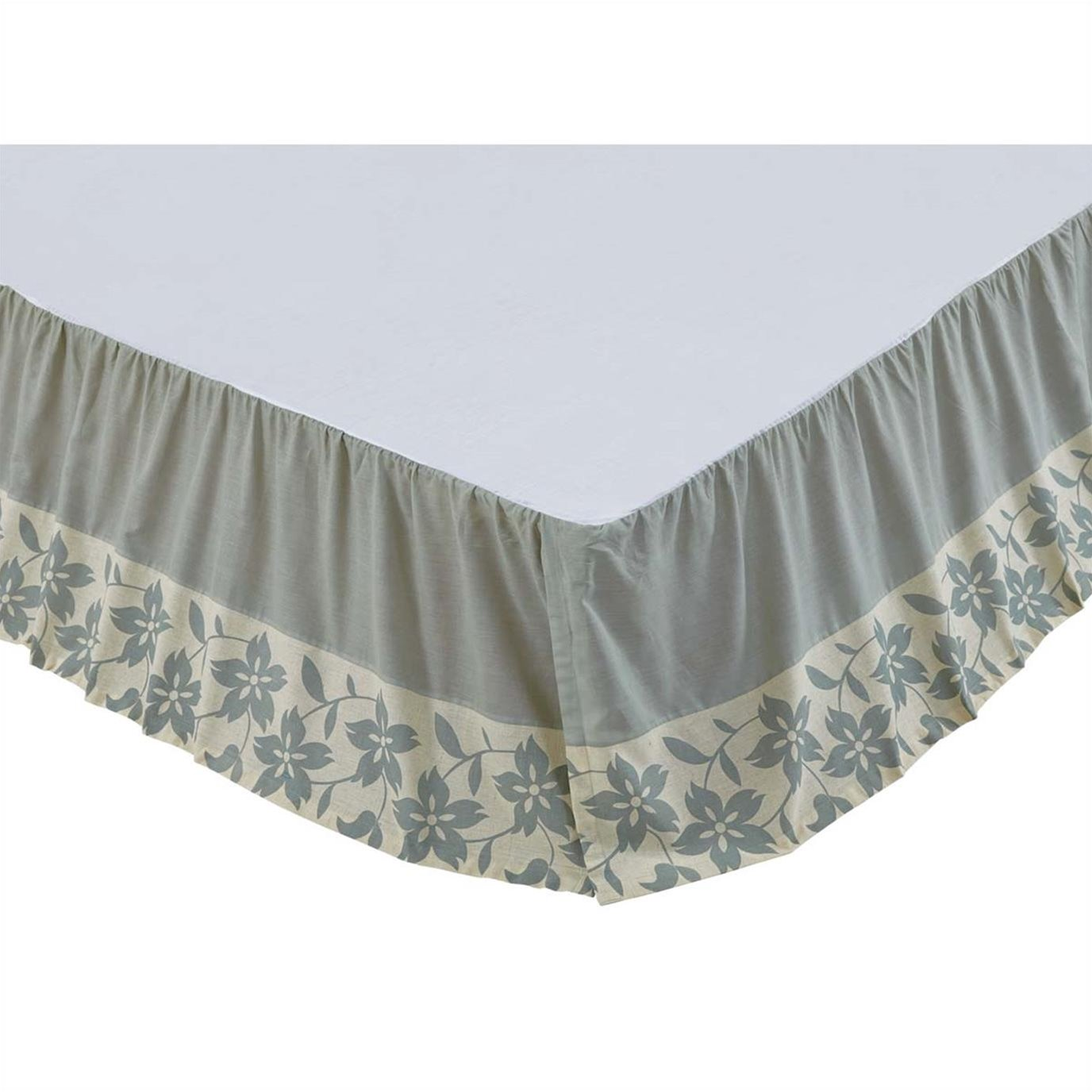 Briar Sage King Bed Skirt 78x80x16