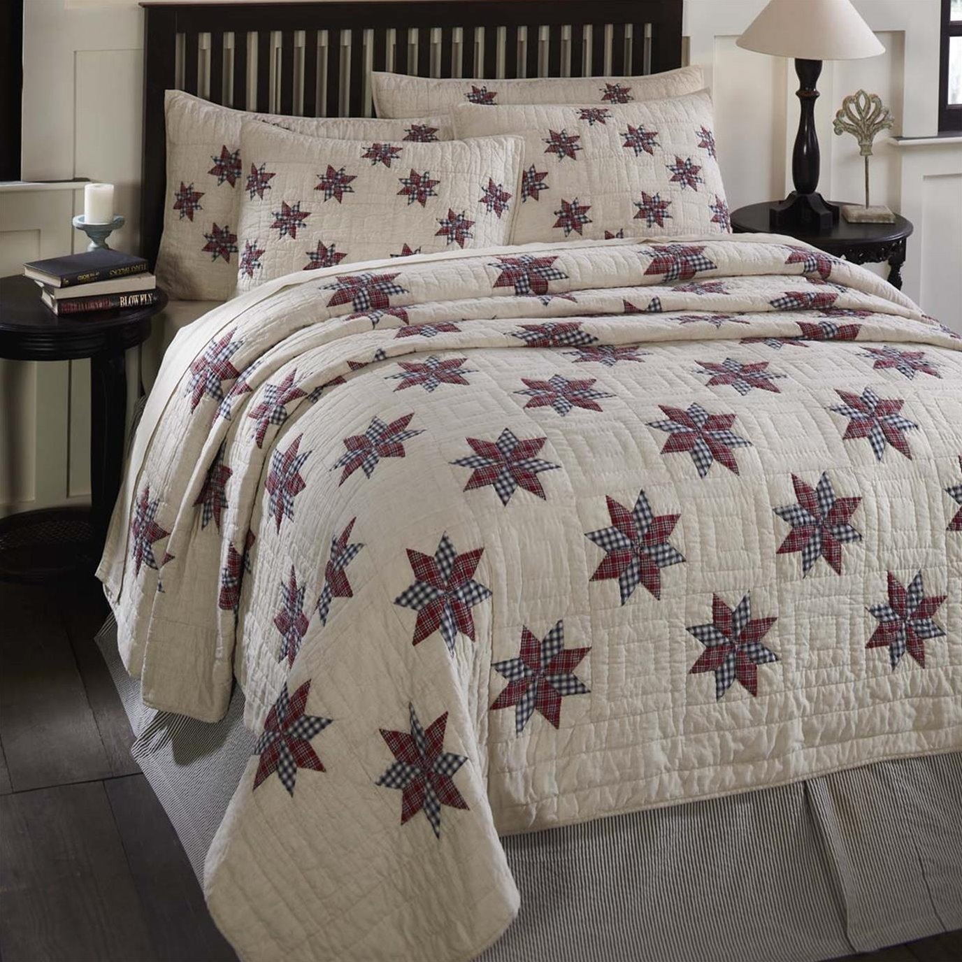 Lincoln King Quilt 110Wx97L