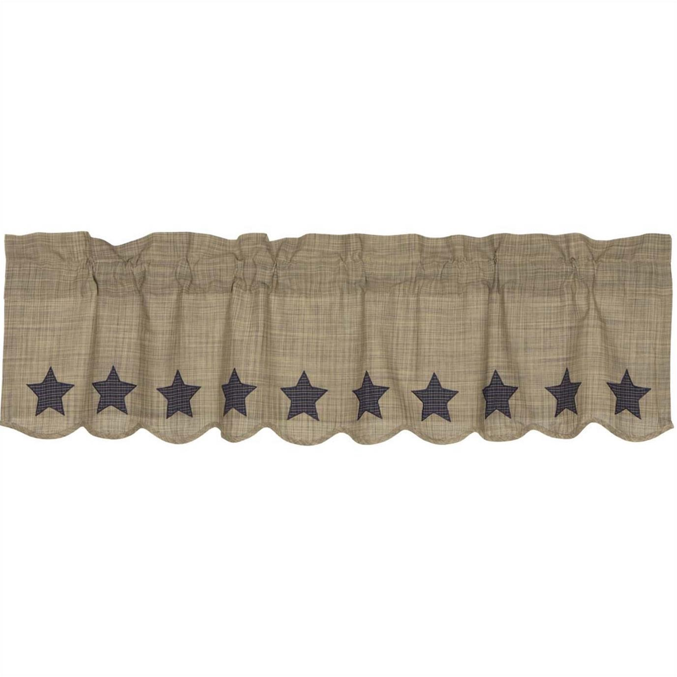 Vincent Scalloped Valance 16x60