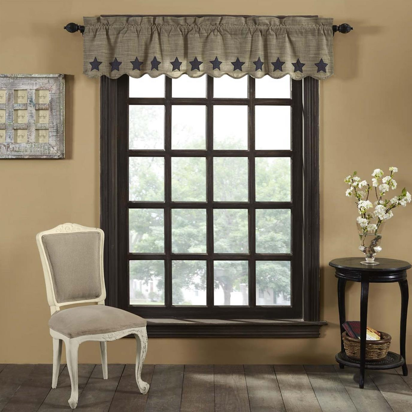 Vincent Scalloped Valance 16x72