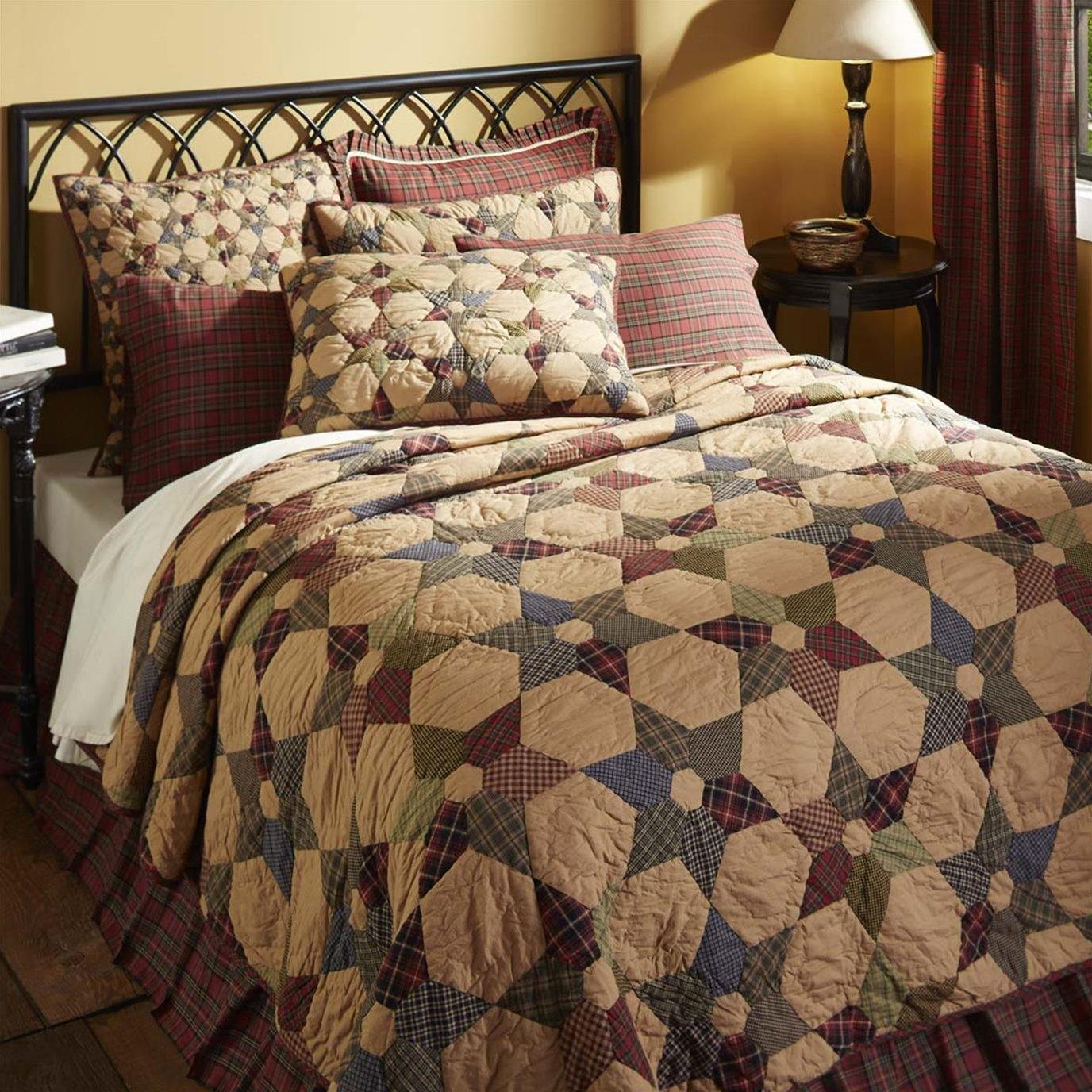 Tea Star Luxury King Quilt 120Wx105L