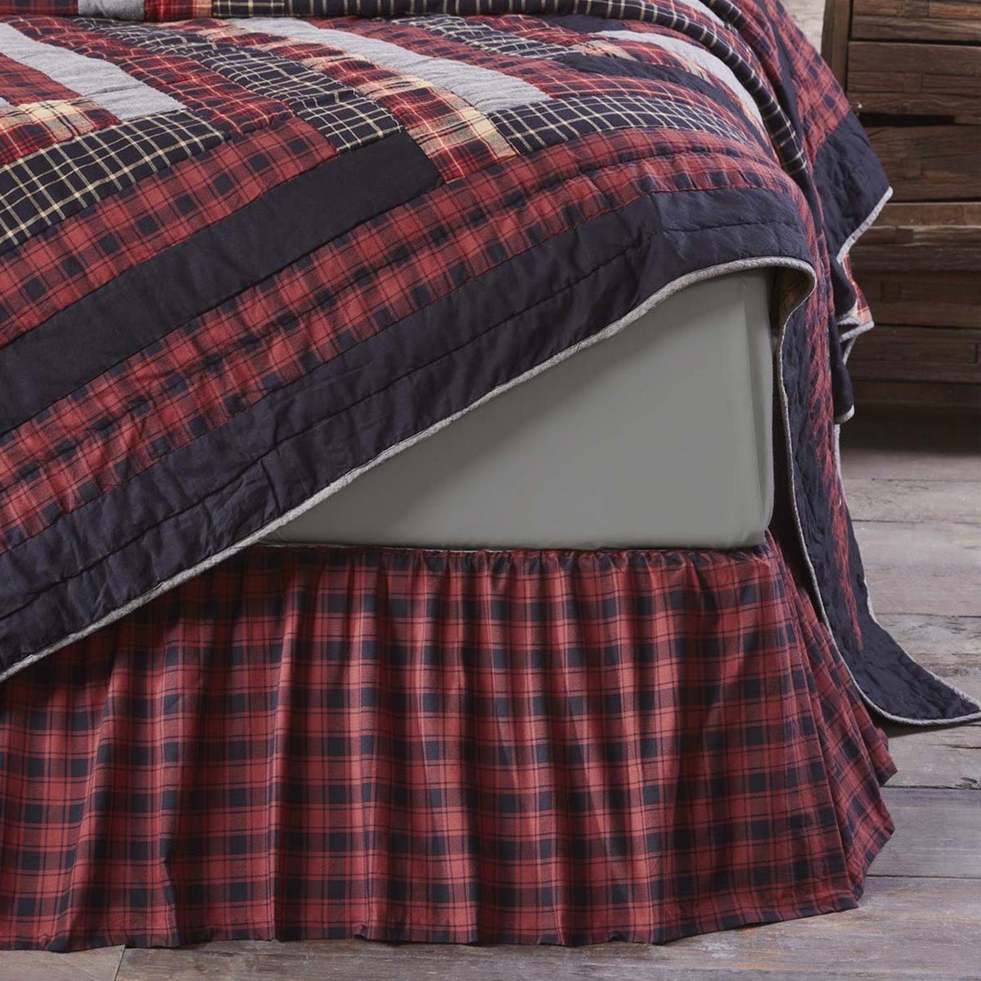 Cumberland King Bed Skirt 78x80x16